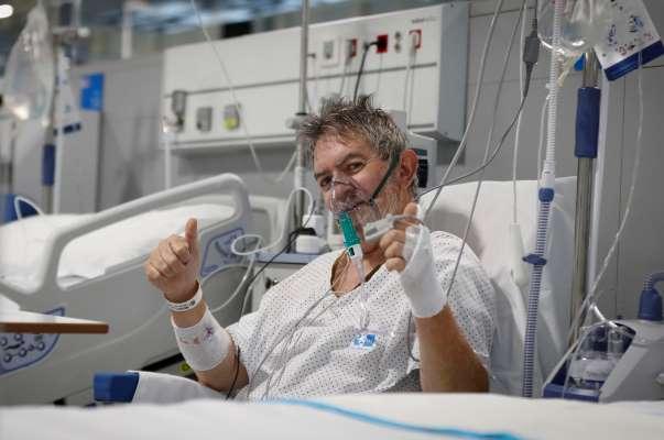 hospital isabel zendal interior paciente