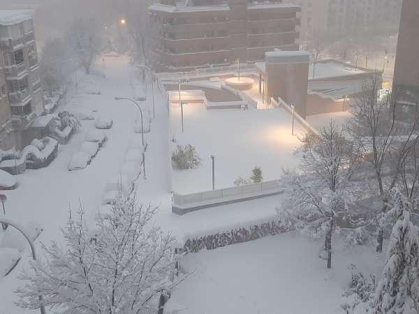 nieve en madrid 2021