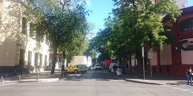 calles peatonales chamberí
