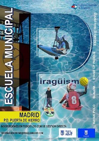 Anuncio inscripción clases nueva escuela piragüismo