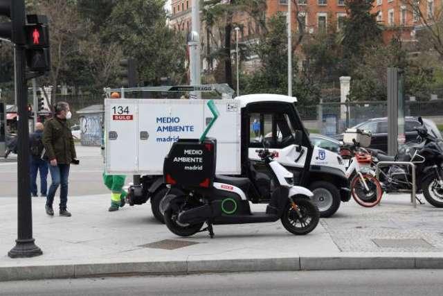 papeleras inteligentes sensores vehículos cero emisiones recogida basura