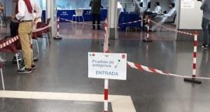 test antígenos plaza Castilla