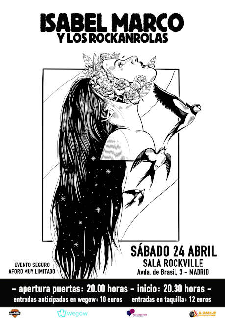 Cartel gira 2021 Isabel Marco