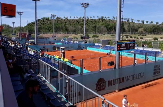 mutua madrid open tenis 2019 pistas pequeñas ok