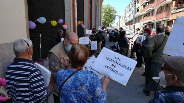 Concentraciones de los Centros de mayores Madrid