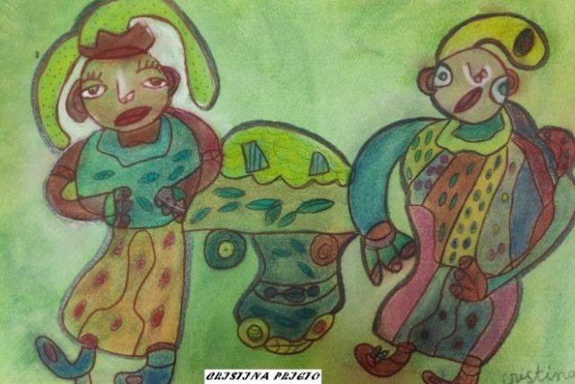 Exposición Miradas. Exposición discapacidad Madrid. Cristina Prigio