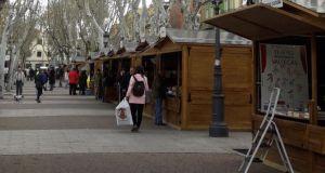 Noticias de Madrid El Mirador de Madrid feria libro puente vallecas casetas ok
