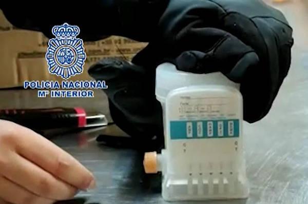 Cocaína incautada en pulpa piña