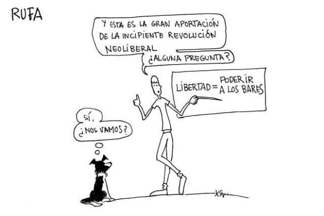 liberte tira cómica