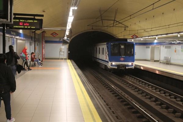 Estación línea 9 Plaza de Castilla