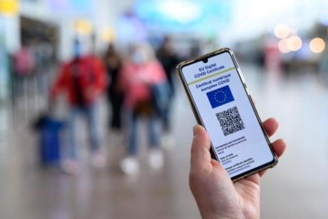 Certificado digital UE Covid-19