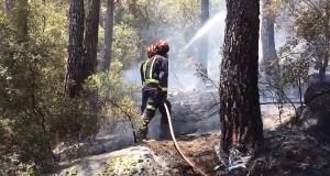 Incendio pantano San Juan