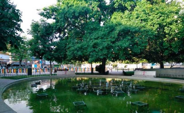 Jardín Brigadas Internacionales