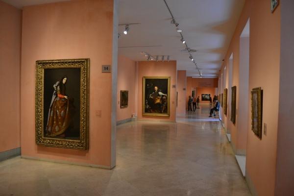 Interiores Museo Thyssen-Bornemisza