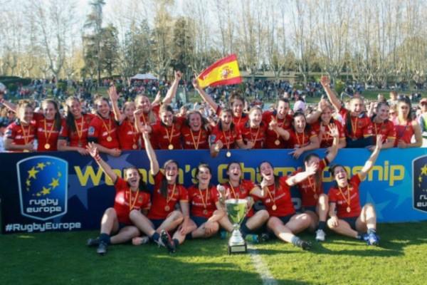 Selección femenina rugby España