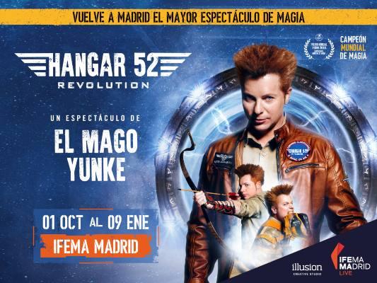 Espectáculo de magia 'Hangar 52 Revolution'