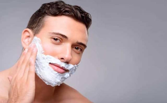 jabón para afeitar