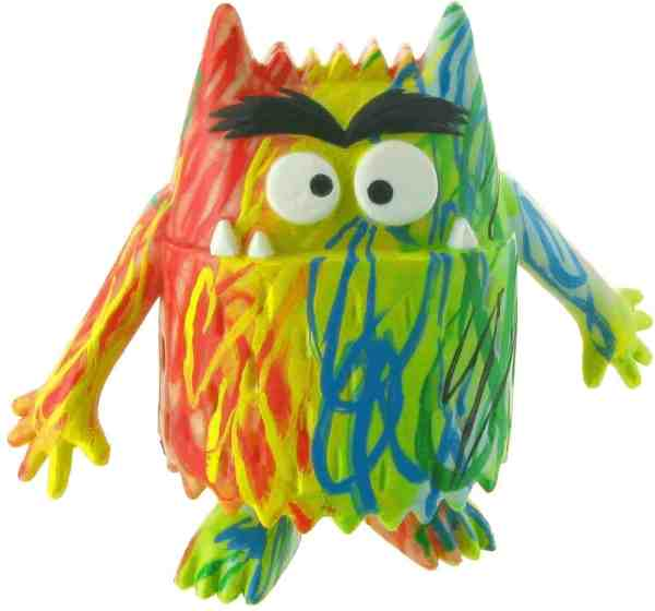 figurines monstruos de colores