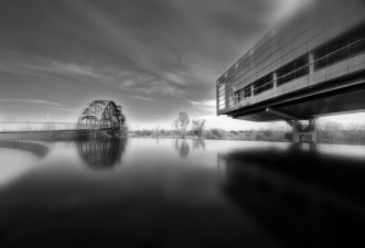 Water and Bridge - Fine Art Photography by Elmore Photography