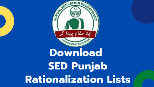 download SED Rationalization Lists