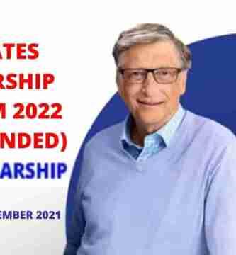 The Gates Scholarship Program 2022