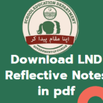 Download LND Reflective Notes