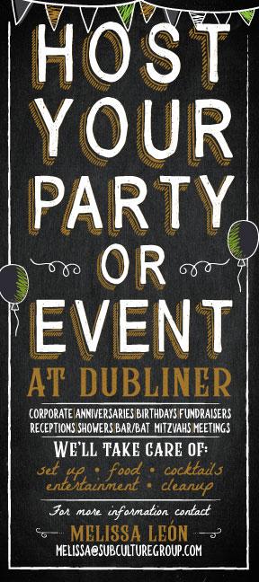 Nicole-David-Portfolio-Dubliner-Host-Your-Party