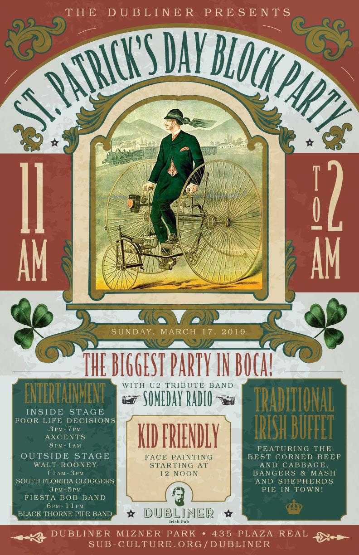 Dubliner St. Patrick's Day