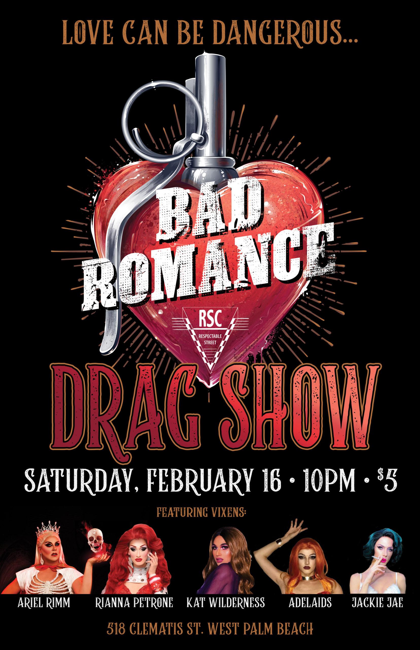 RSC Bad Romance Poster