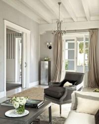 greige grey walls curtains madera techo casa sala paredes gris room techos living blanco casas planete deco grises une cepaynasi