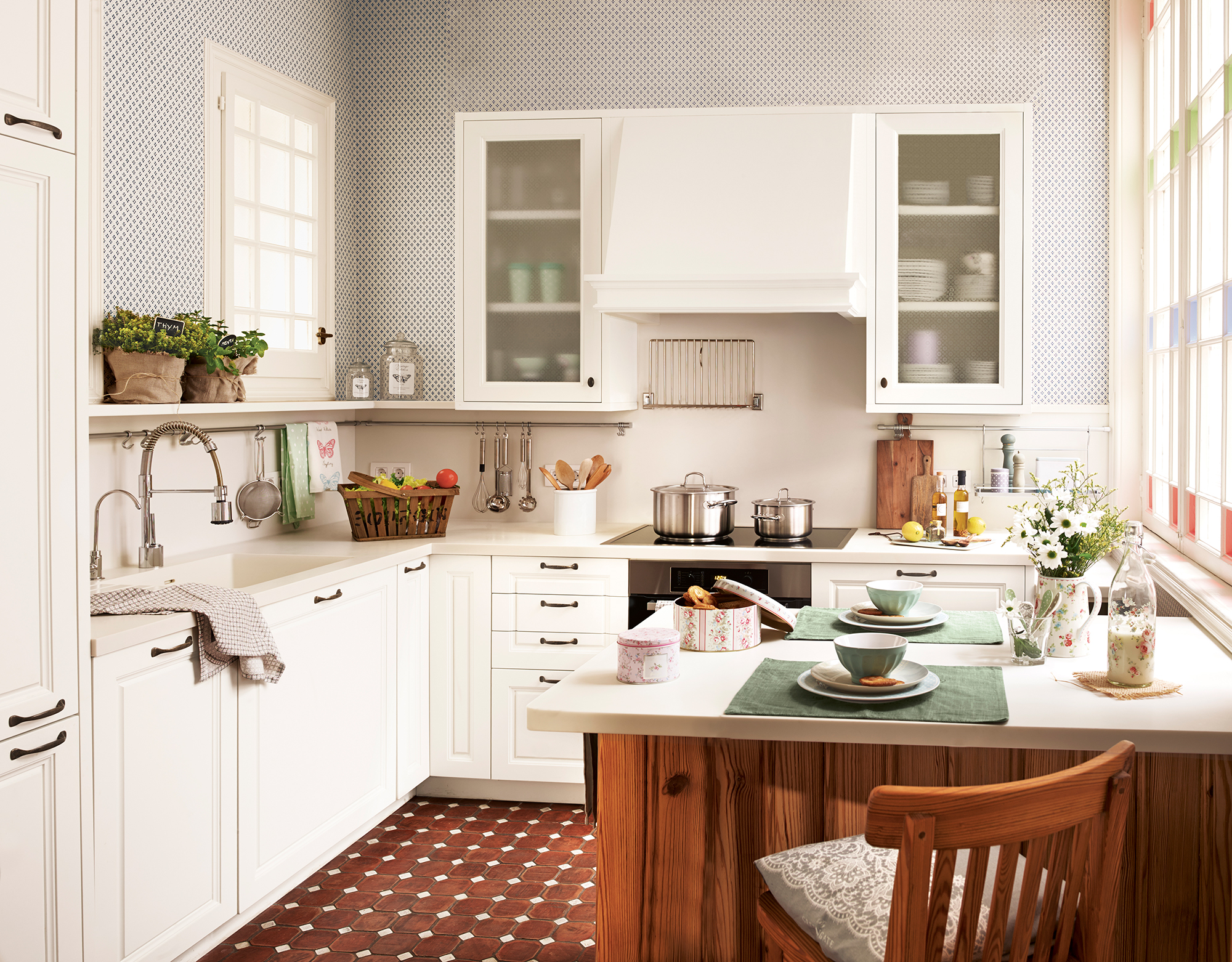 Cocinas Muebles, Decoración, Diseño, Blancas O Pequeñas