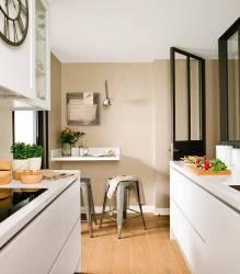 17 cocinas con barra bonitas y prácticas