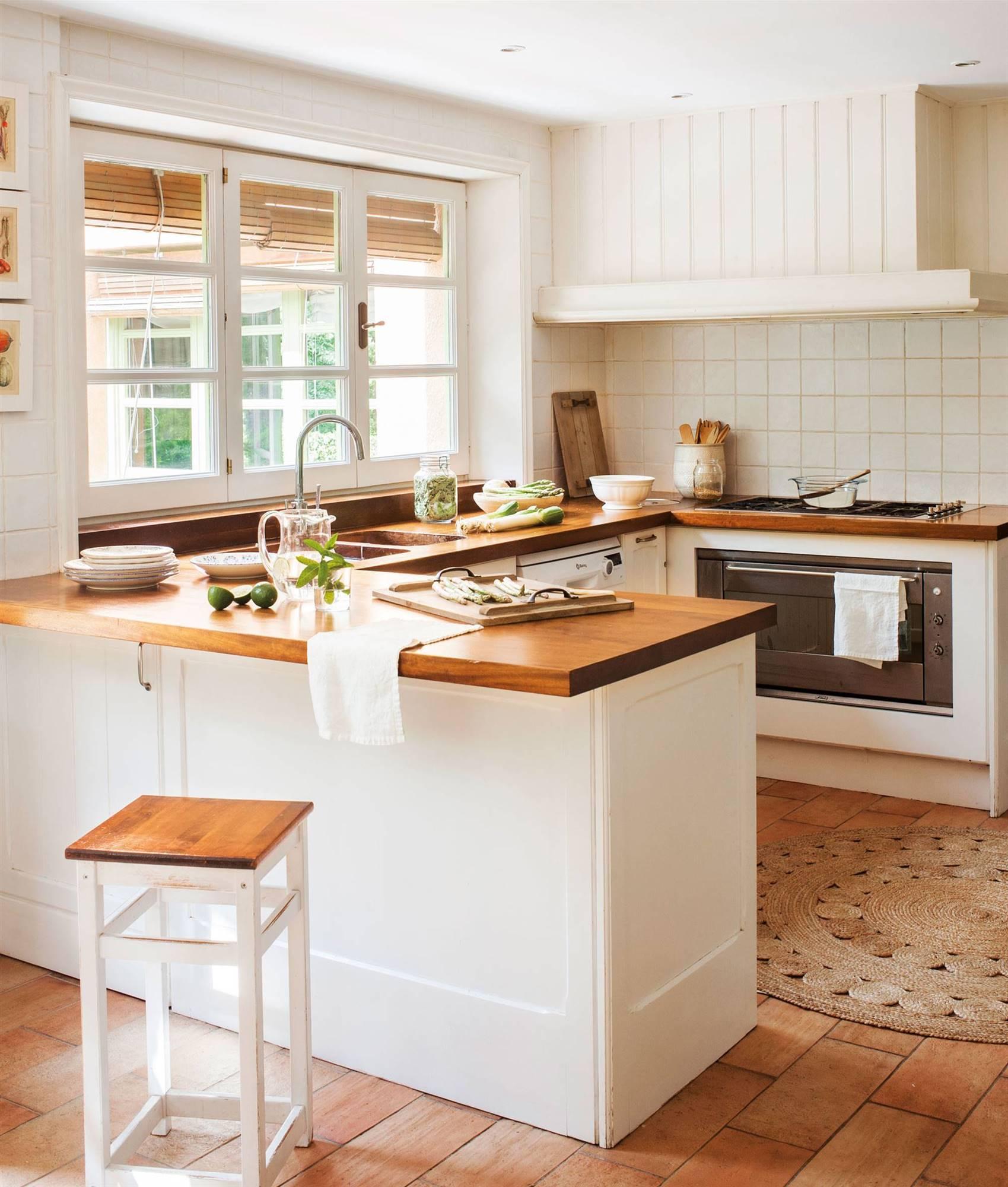Cocinas Rusticas De Obra Fotos Cocinas Rusticas Modernas Pequenas