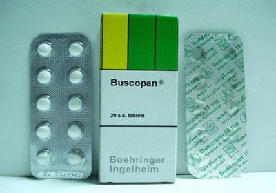 دواعي استعمال بسكوبان Buscopan لعلاج القولون العصبي