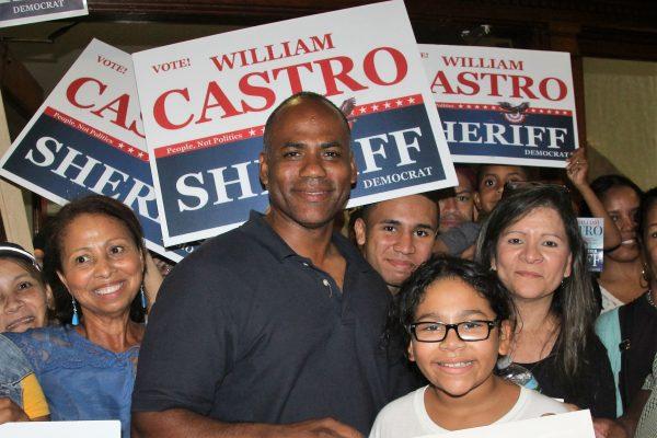 William Castro tuvo mucho apoyo para el cargo de alguacil ganando en las ciudades de Lawrence, Methuen y Haverhill. (Foto por Yadira Betances)
