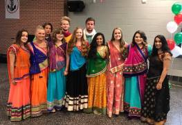 garba meets bollywood