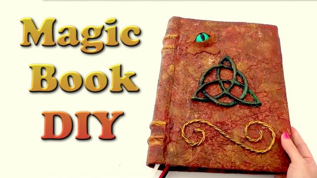 Haz Tu Propio Libro De Las Sombras DIY