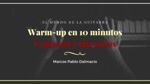 Warm-up en 10 minutos, concepto y ejercicios