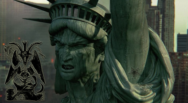 La Estatua de La Libertad representa a Lucifer