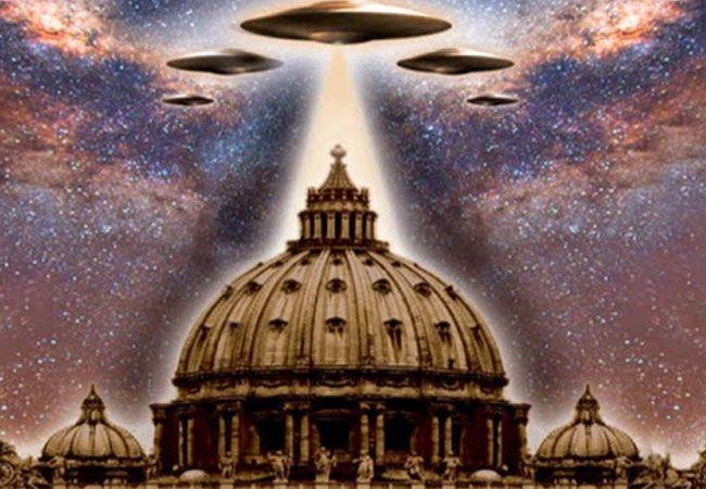 alienigenas en el vaticano
