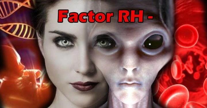 Origen del Factor RH Negativo Extraterrestres, dioses o reptilianos