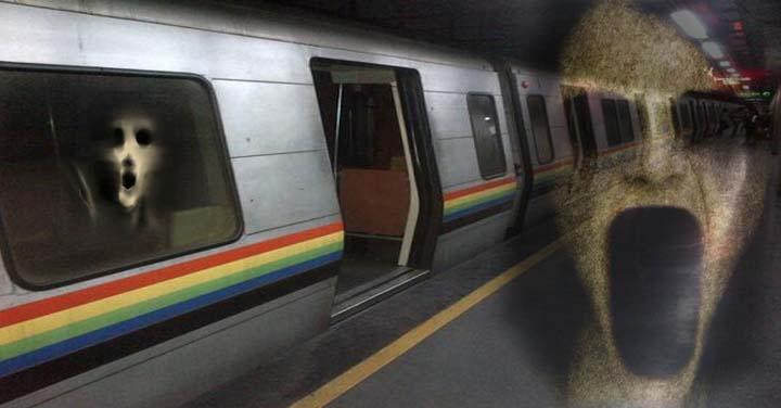 Los fantasmas en el metro de Caracas - Leyendas venezolanas