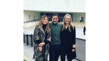 Anllelik Perez Salinas, Moi Micha y Marisa Abedrop.