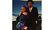 Vero Gonzales y Miguel Vargas en la terraza del Habita Monterrey donde se llevó a cabo la cena de bienvenida.