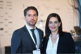 Abelardo Marcondes y Ana de la REguera
