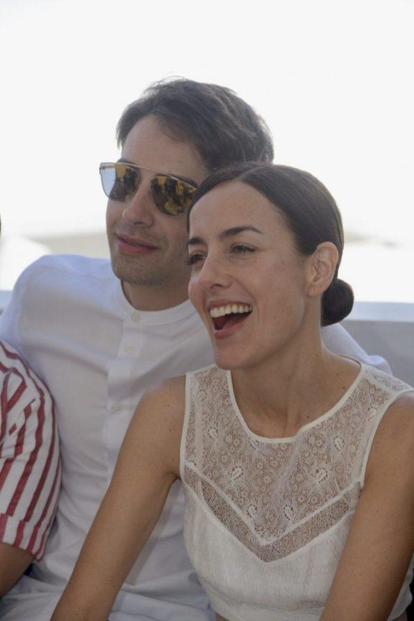 Alberto Escamilla y Cecilia Suárez