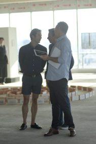 Emmanuel Serra, Rafa Micha y Jorge Martínez