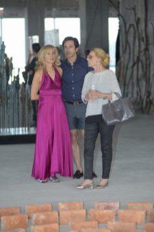 Claudia Peña, Emmanuel e Ivette Serra