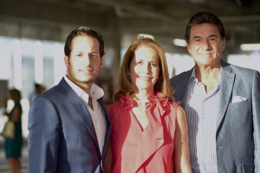 Patricio, Tere y Ernesto Navarro