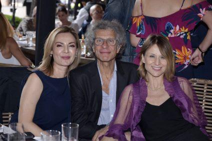 Jamehel Guerra, Luigi Macotta y Silvia Carusillo